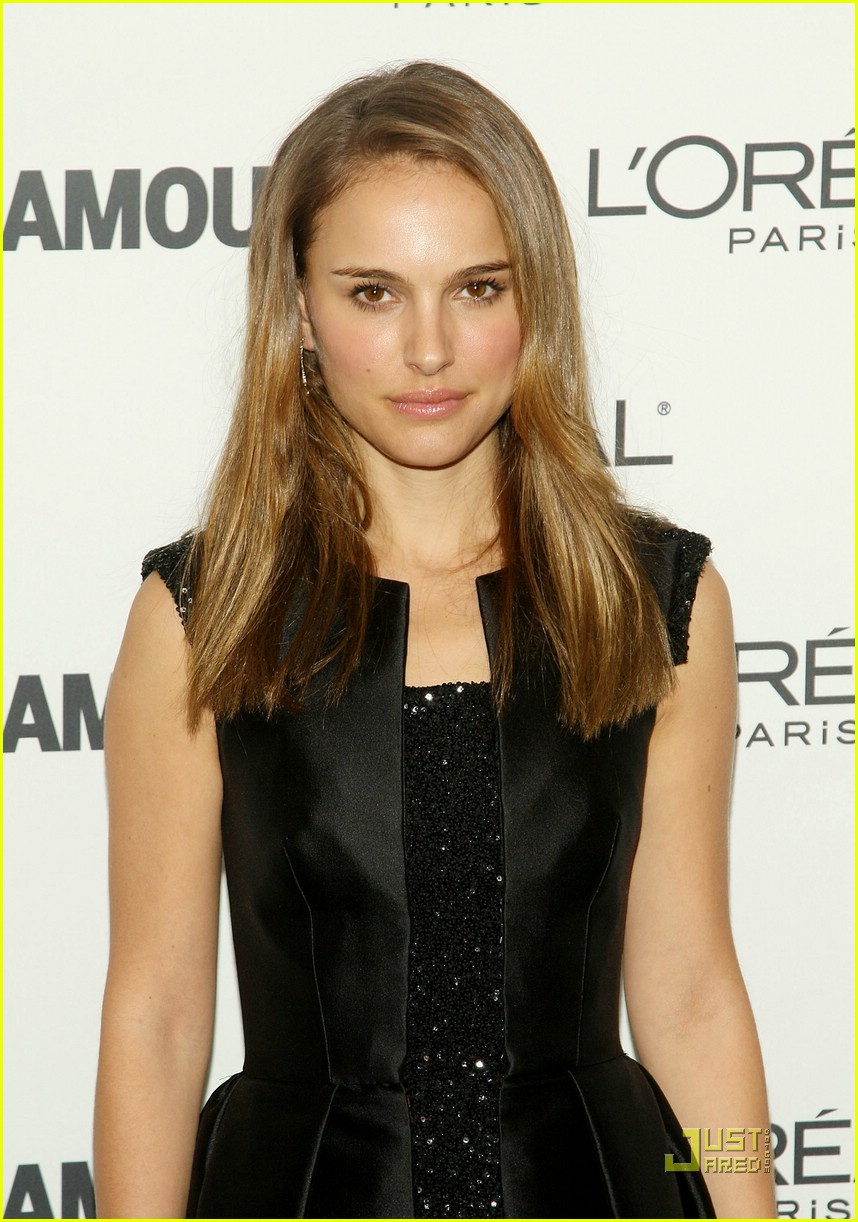 natalie portman glamour women of the year awards 2008