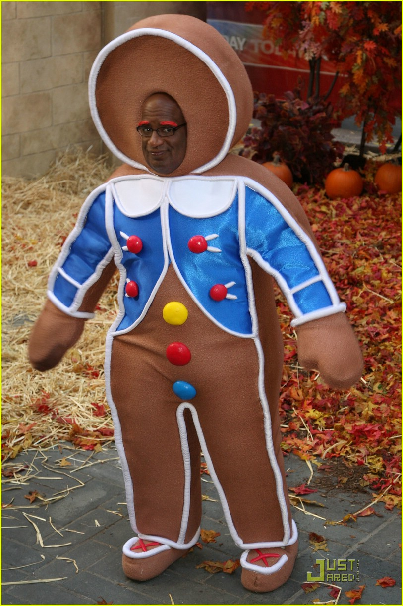 al roker gingerbread man dog 08