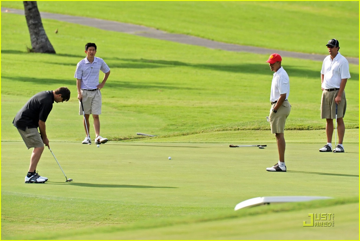 obama golf 14