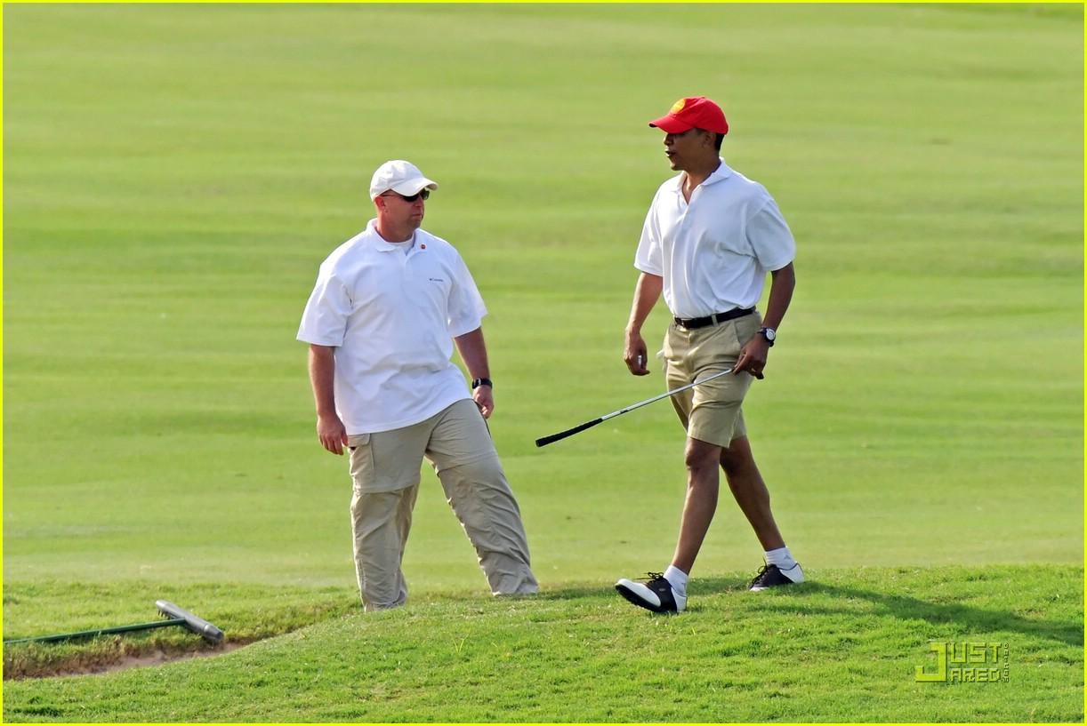 obama golf 151623101