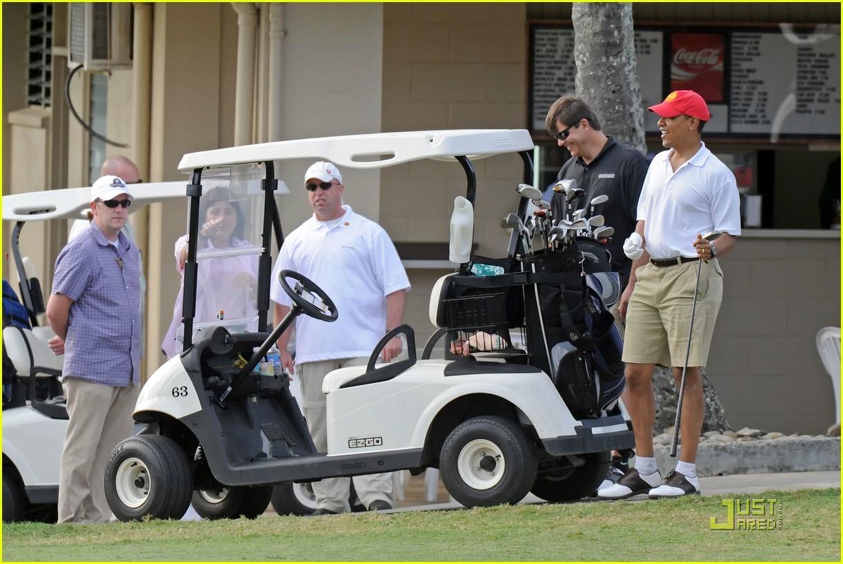 obama golf 161623111