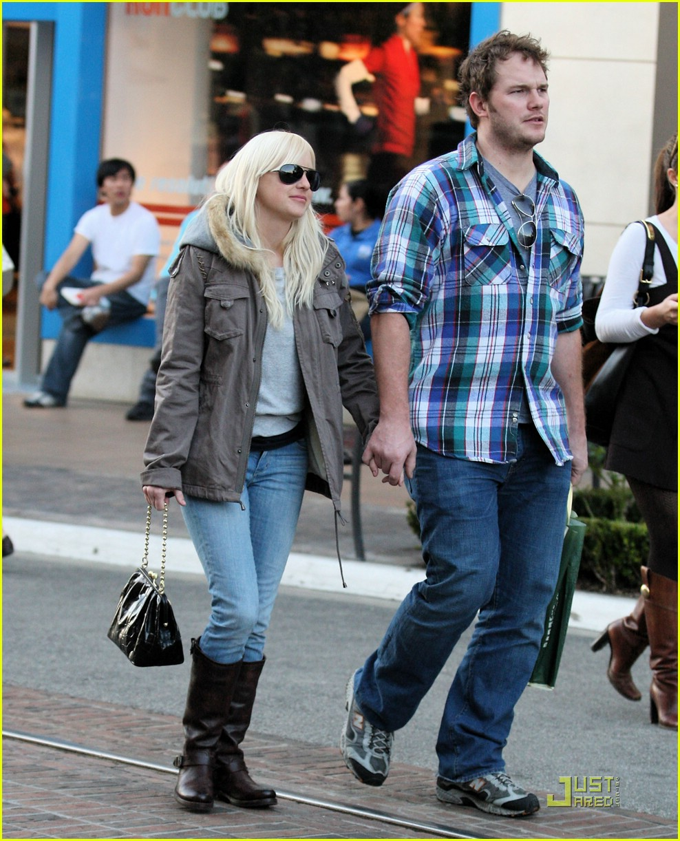 anna faris chris pratt couple 131687521