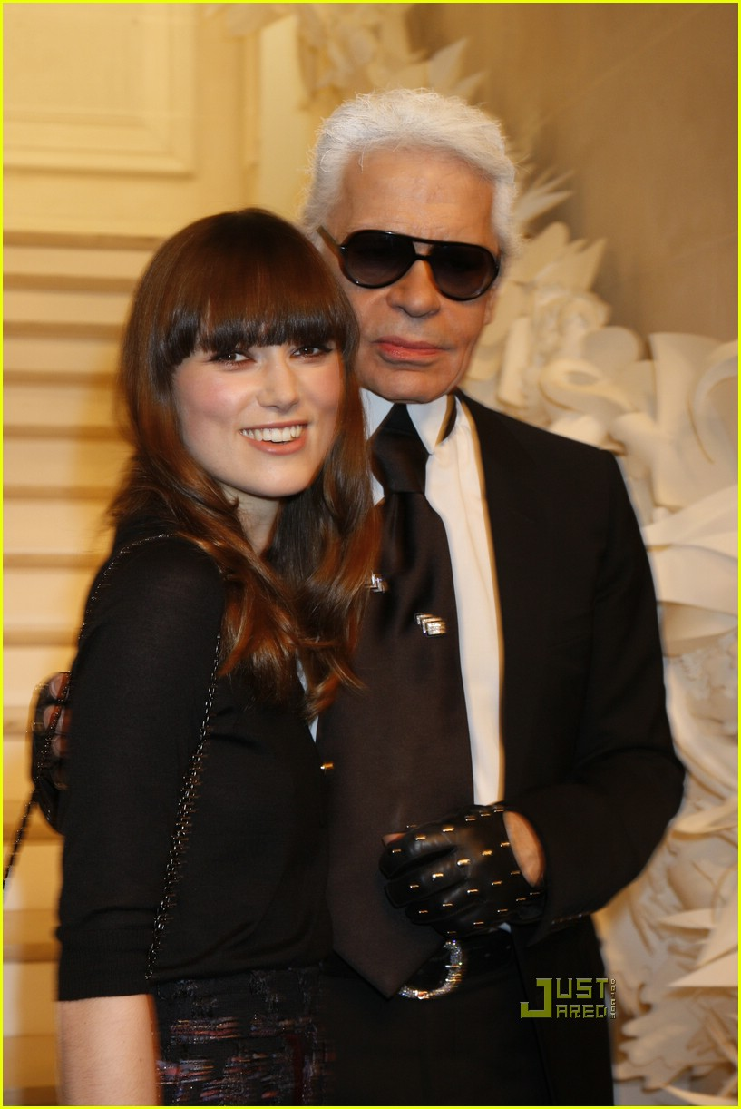 keira knightley karl lagerfeld chanel 19