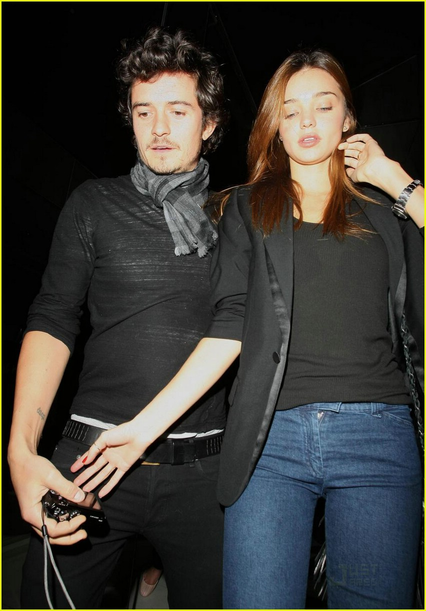 Full Sized Photo of orlando bloom miranda kerr katsuya ... Orlando Bloom