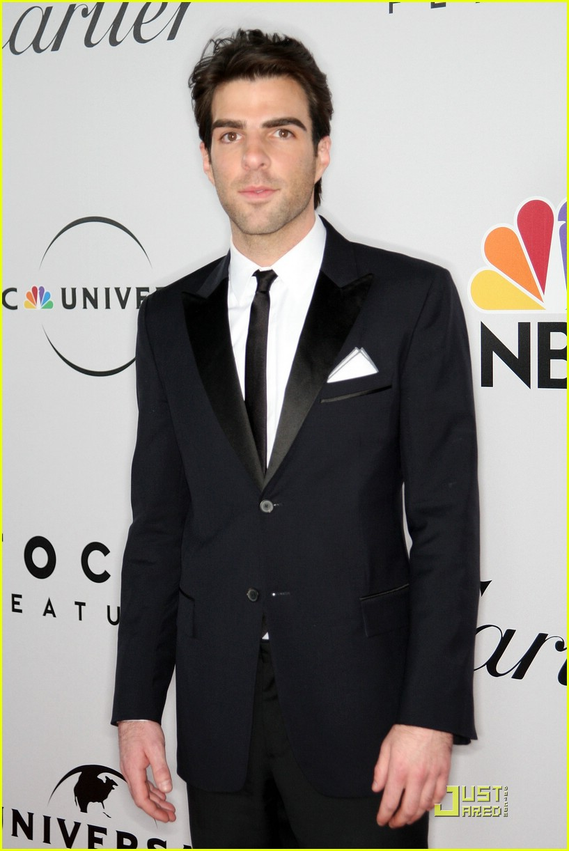 chris pine zachary quinto golden globes 2009 17