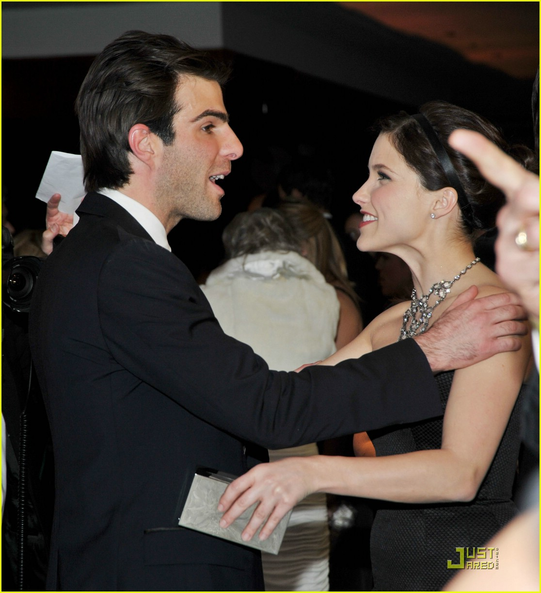 chris pine zachary quinto golden globes 2009 24