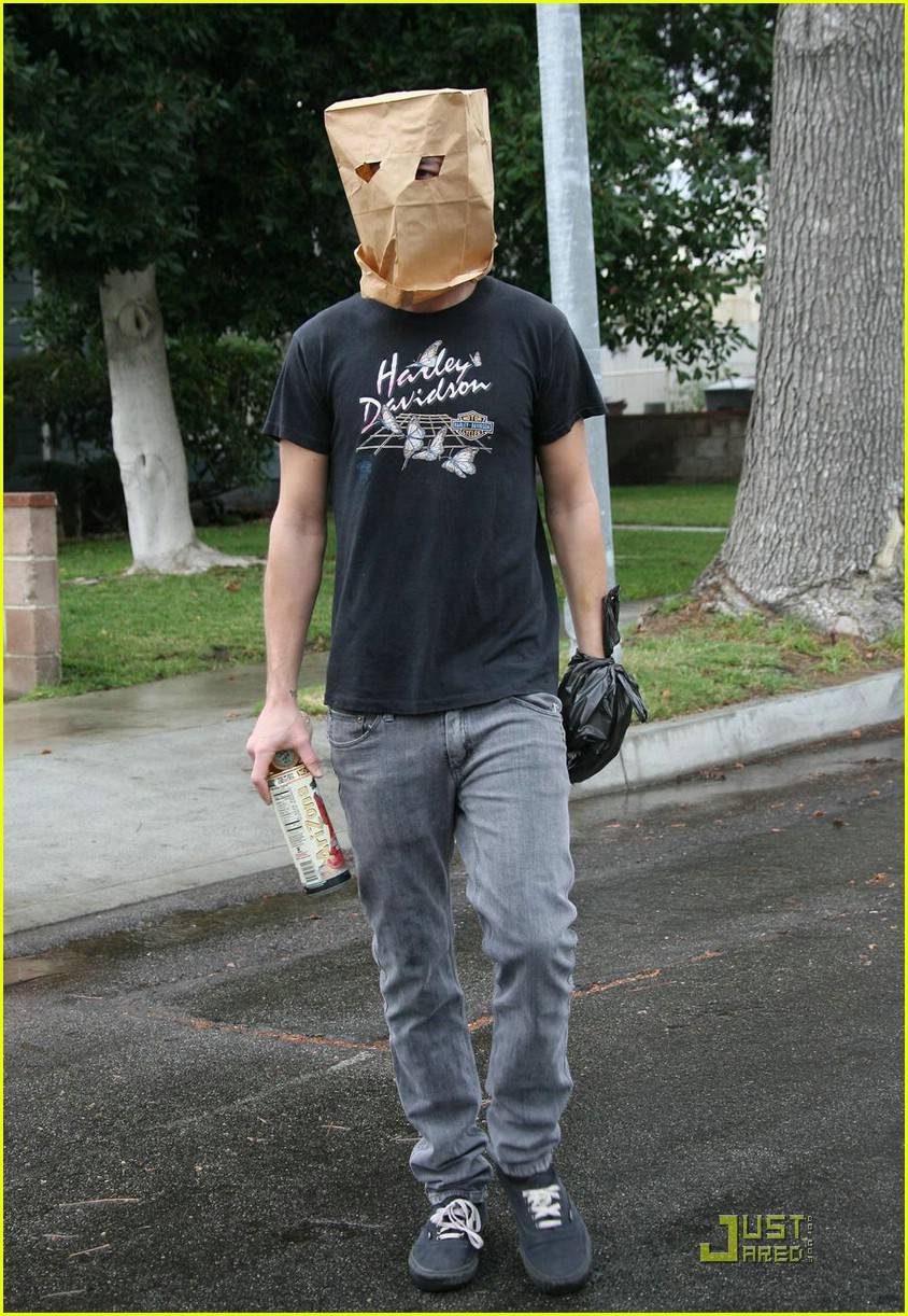 shia labeouf paper bag head 06