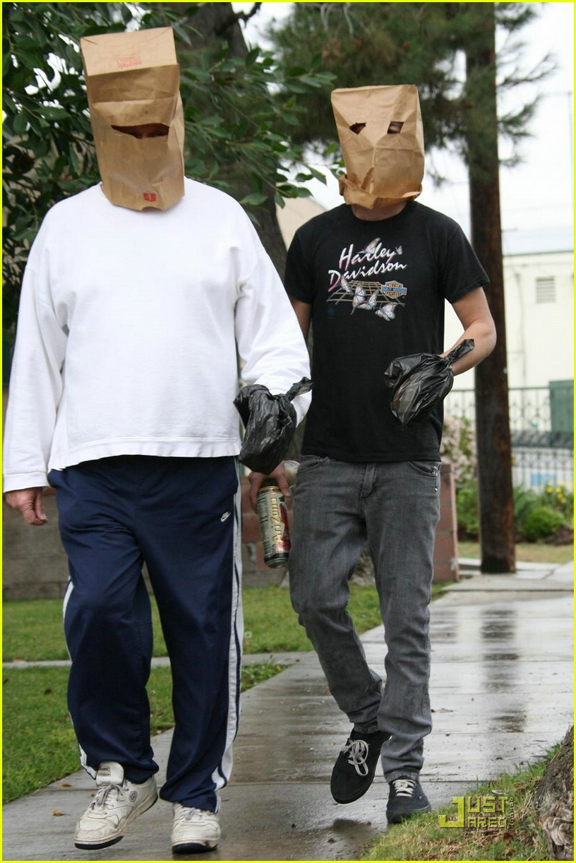 shia labeouf paper bag head 07