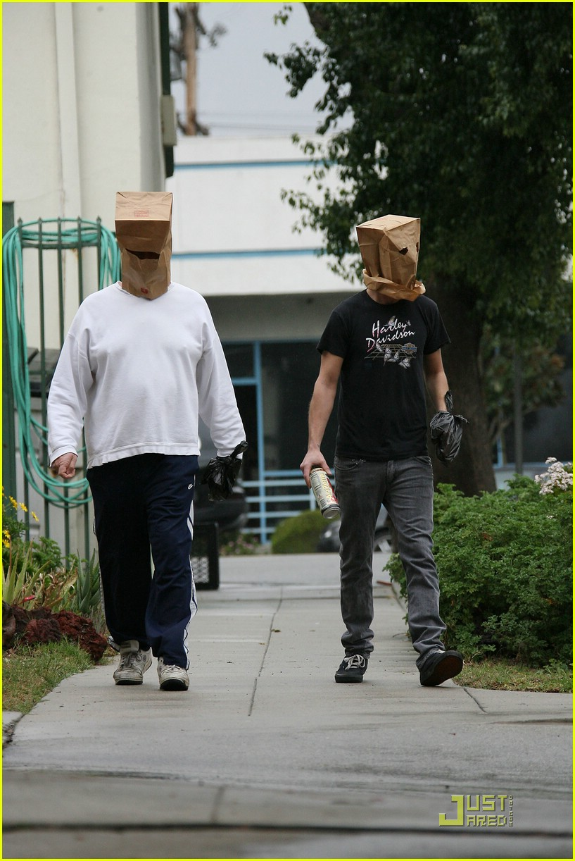 shia labeouf paper bag head 10