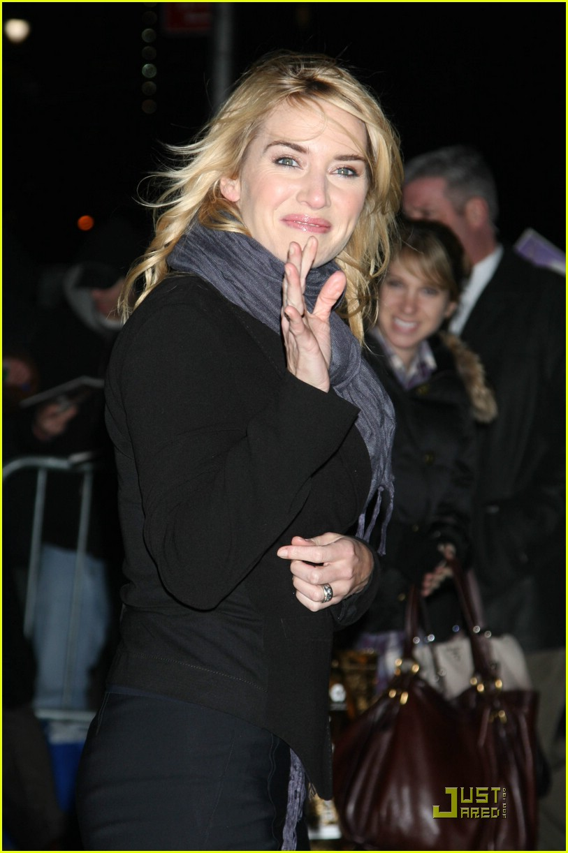 kate winslet late show david letterman 02