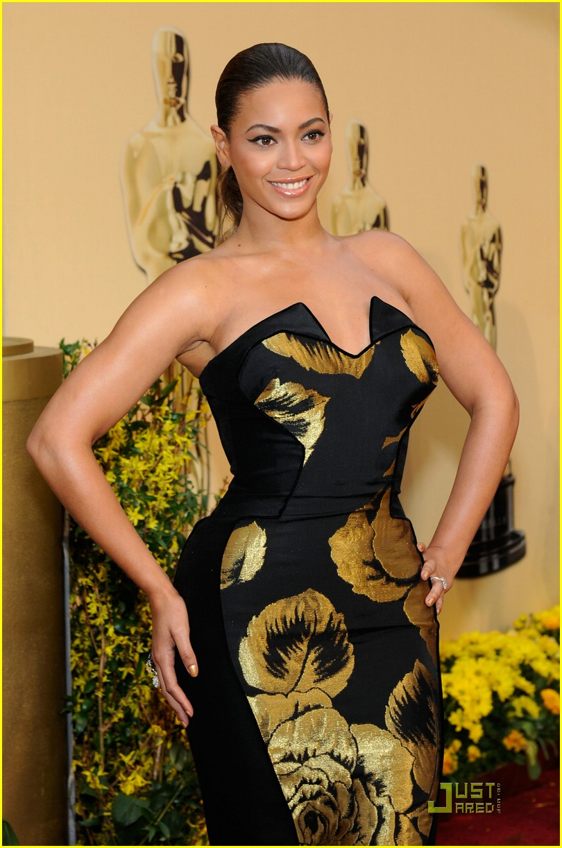 beyonce knowles 2009 oscars 081744491