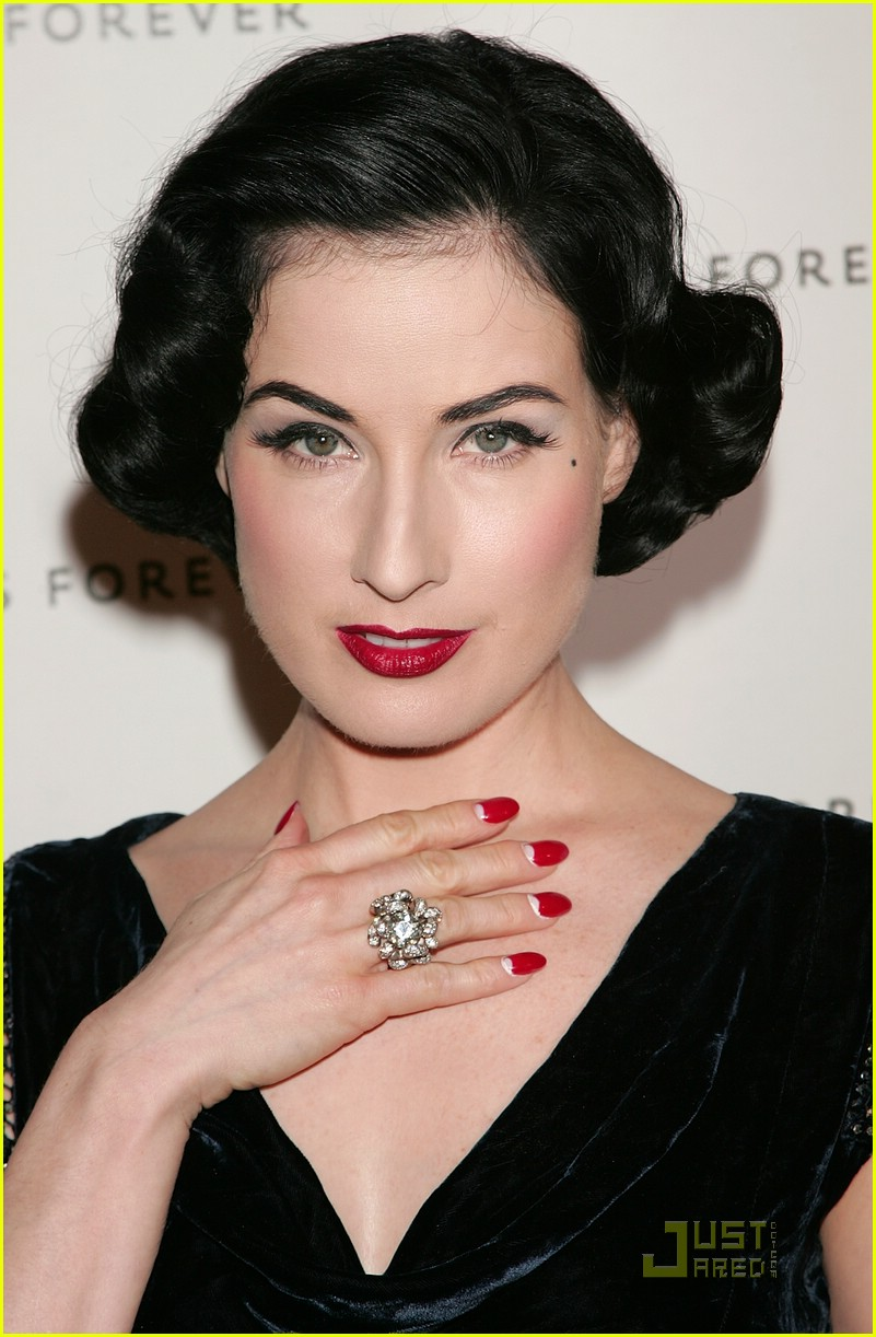 full sized photo of dita von teese a diamond is forever 05 photo