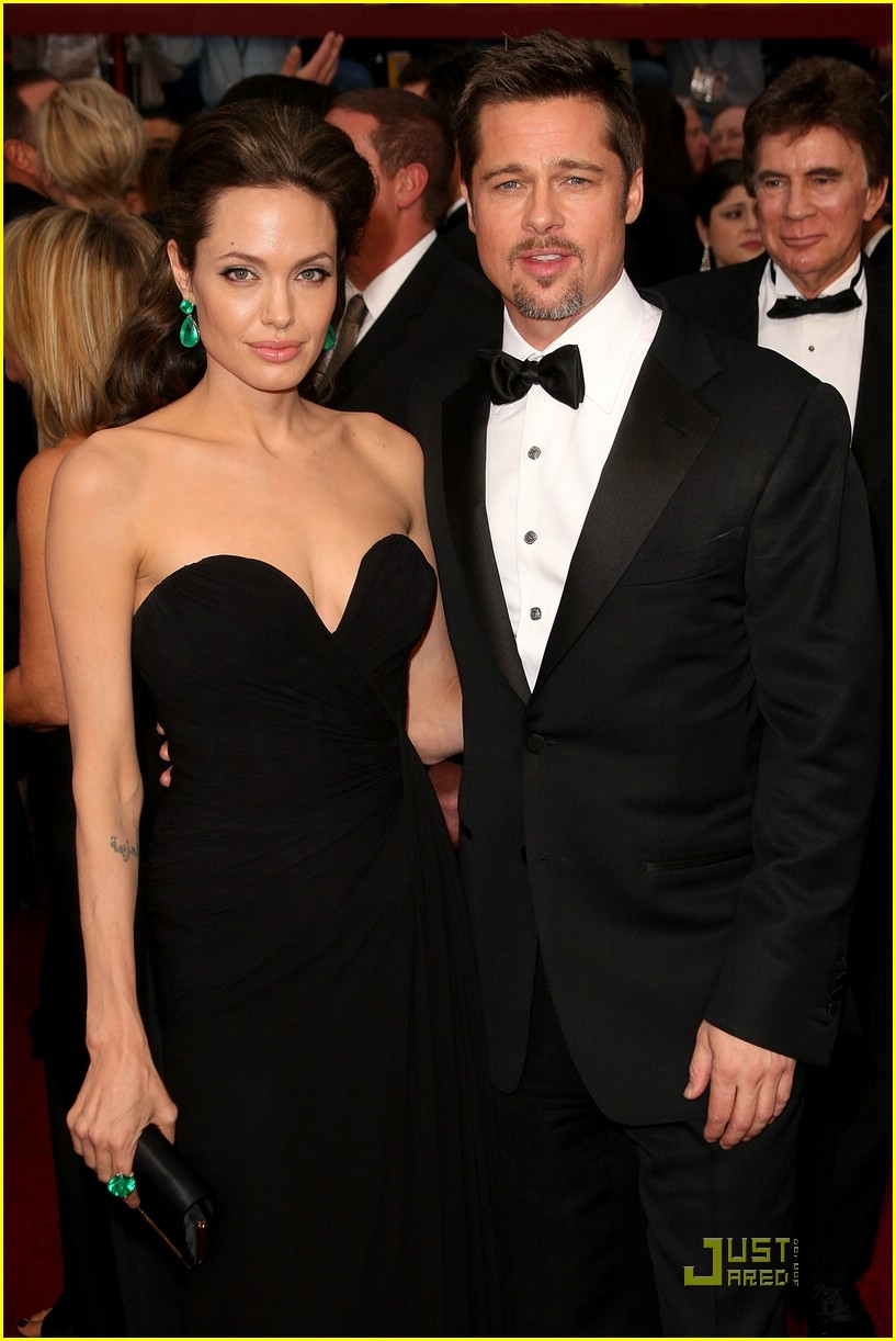 angelina jolie brad pitt 2009 oscars 01