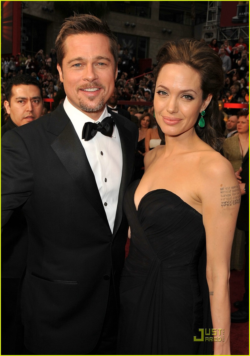 angelina jolie brad pitt 2009 oscars 31