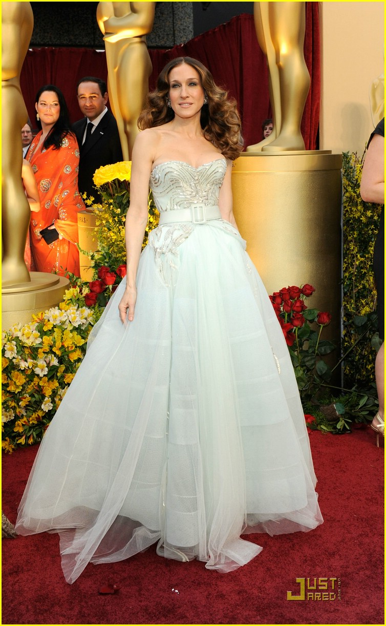 sarah jessica parker 2009 oscars 01