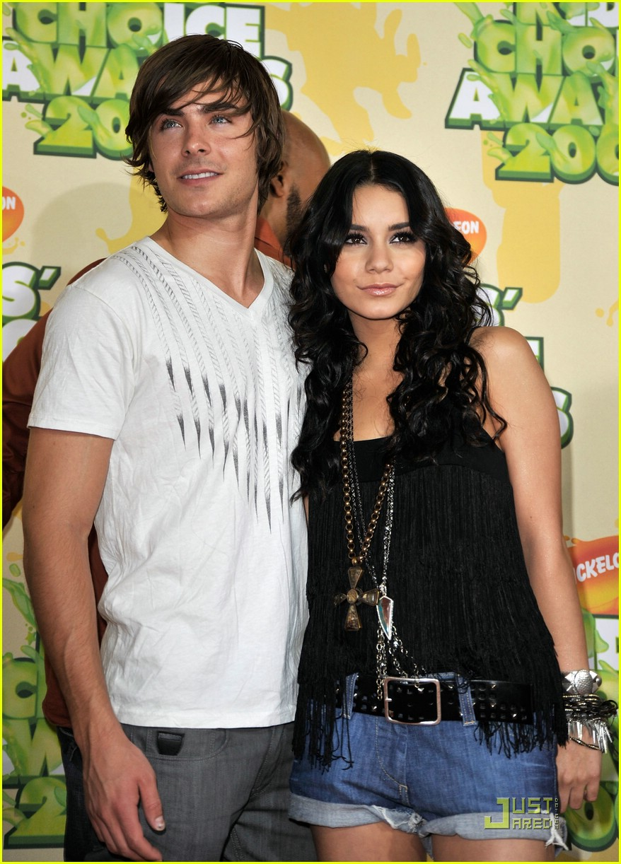 zac efron vanessa hudgens 2009 kids choice awards 06