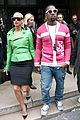 kanye west amber rose fashion week 02