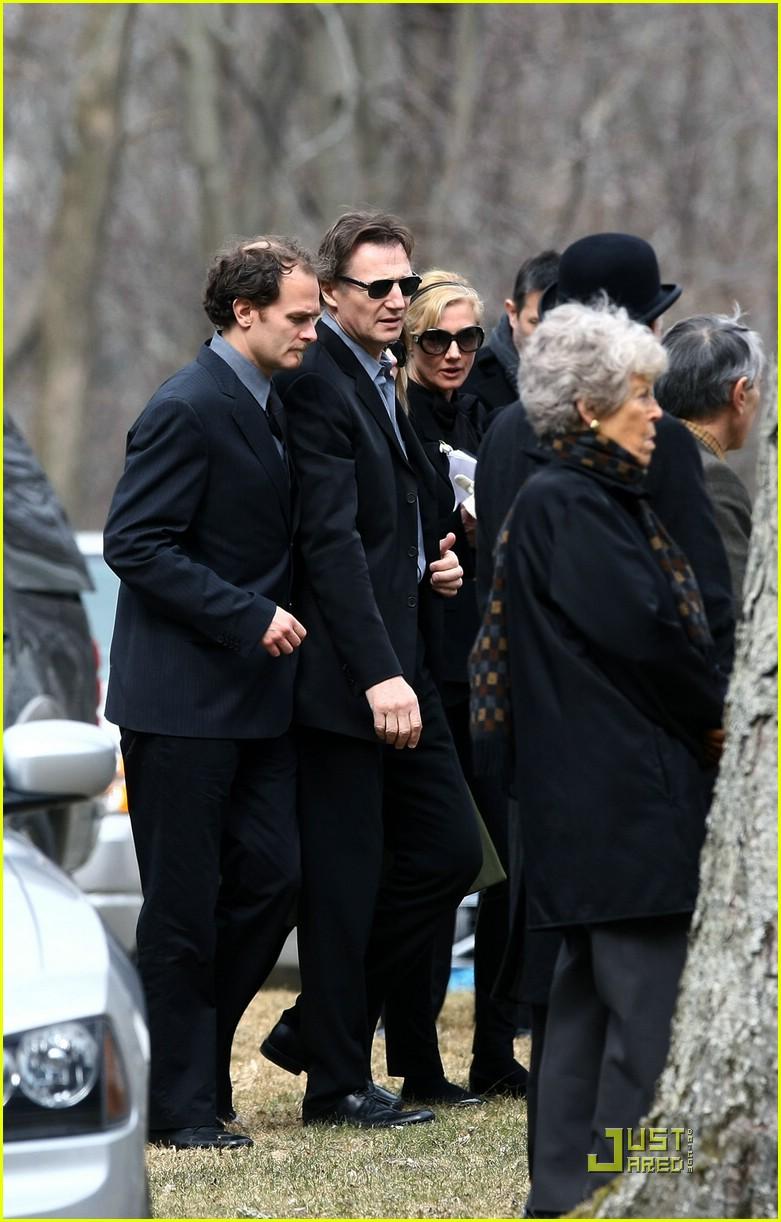 Natasha Richardson Funeral Pictures