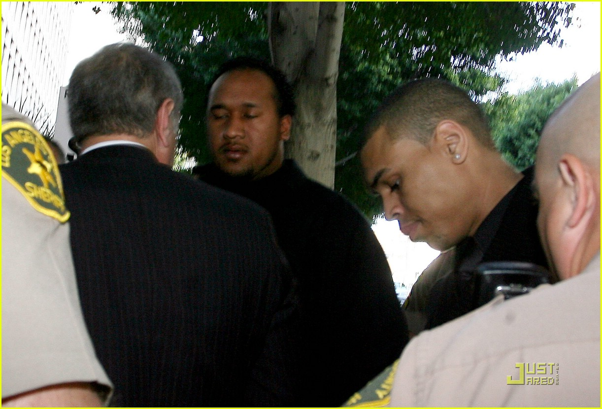 chris brown pleads not guilty 17