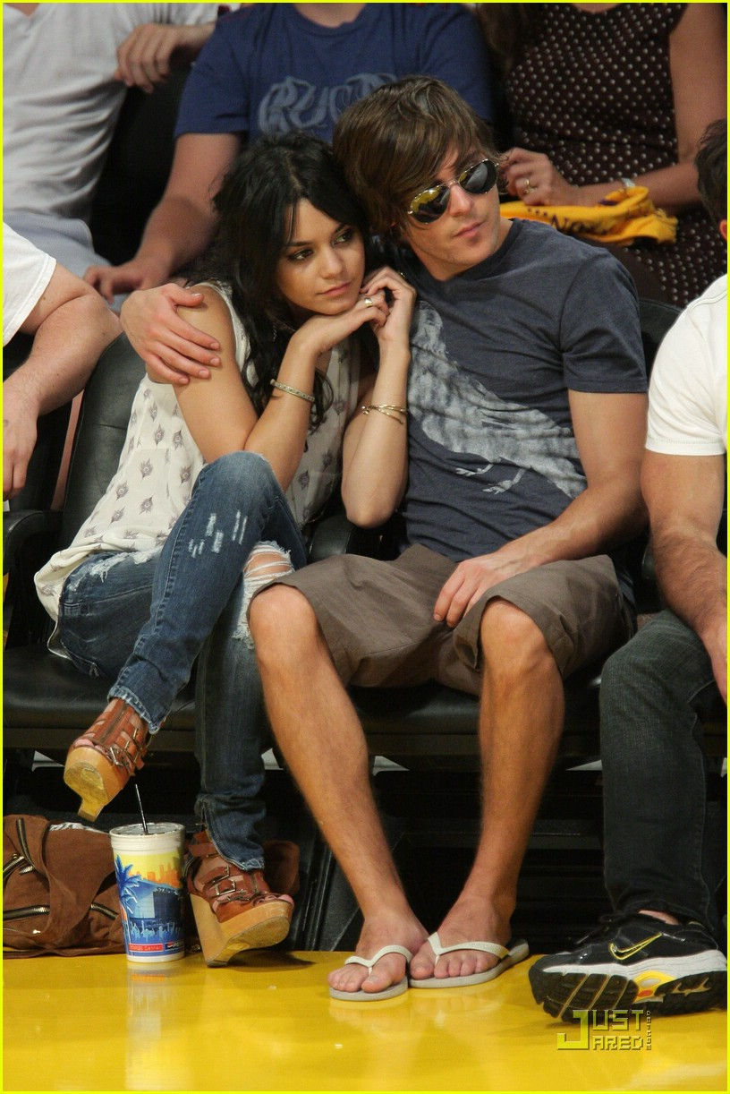 zac efron vanessa hudgens lakers 31