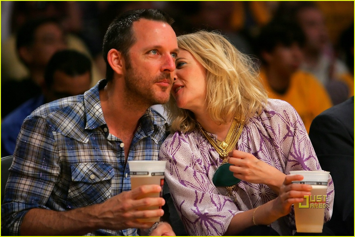 drew barrymore lakers game 13