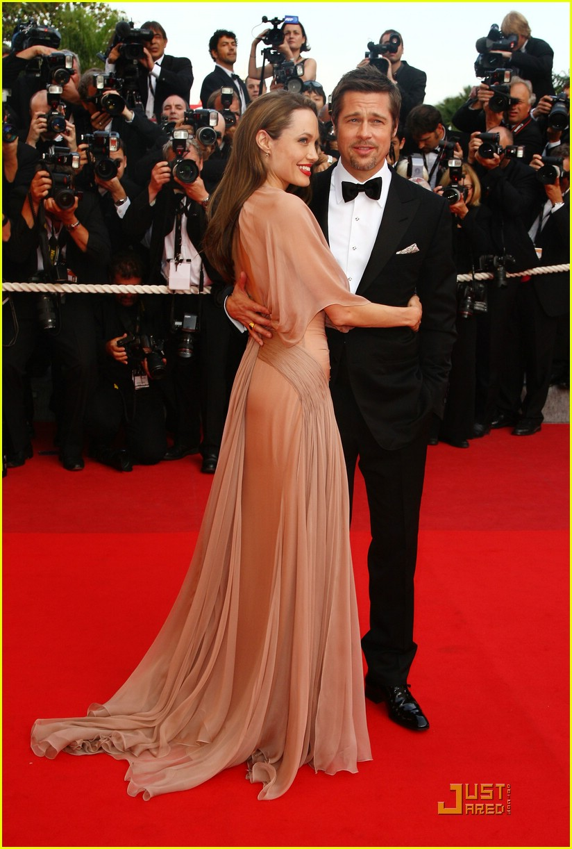 brad pitt angelina jolie cannes inglorious basterds premiere 12