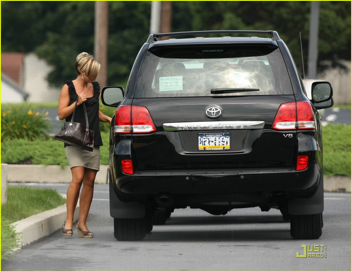 kate gosselin land cruiser 07