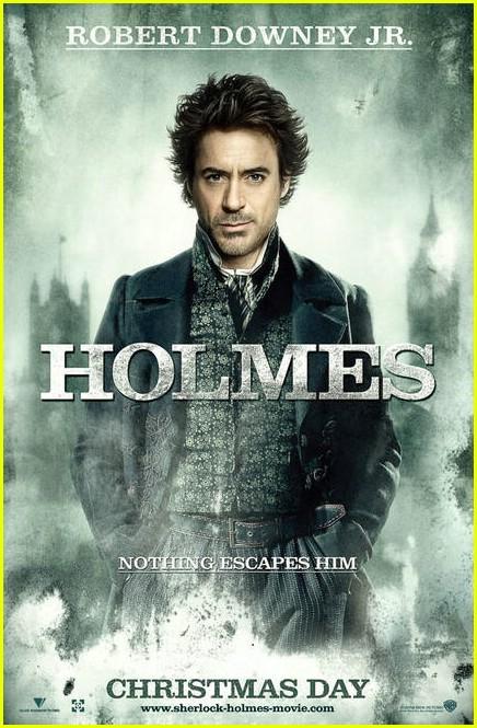 jude law sherlock holmes movie poster 021998931