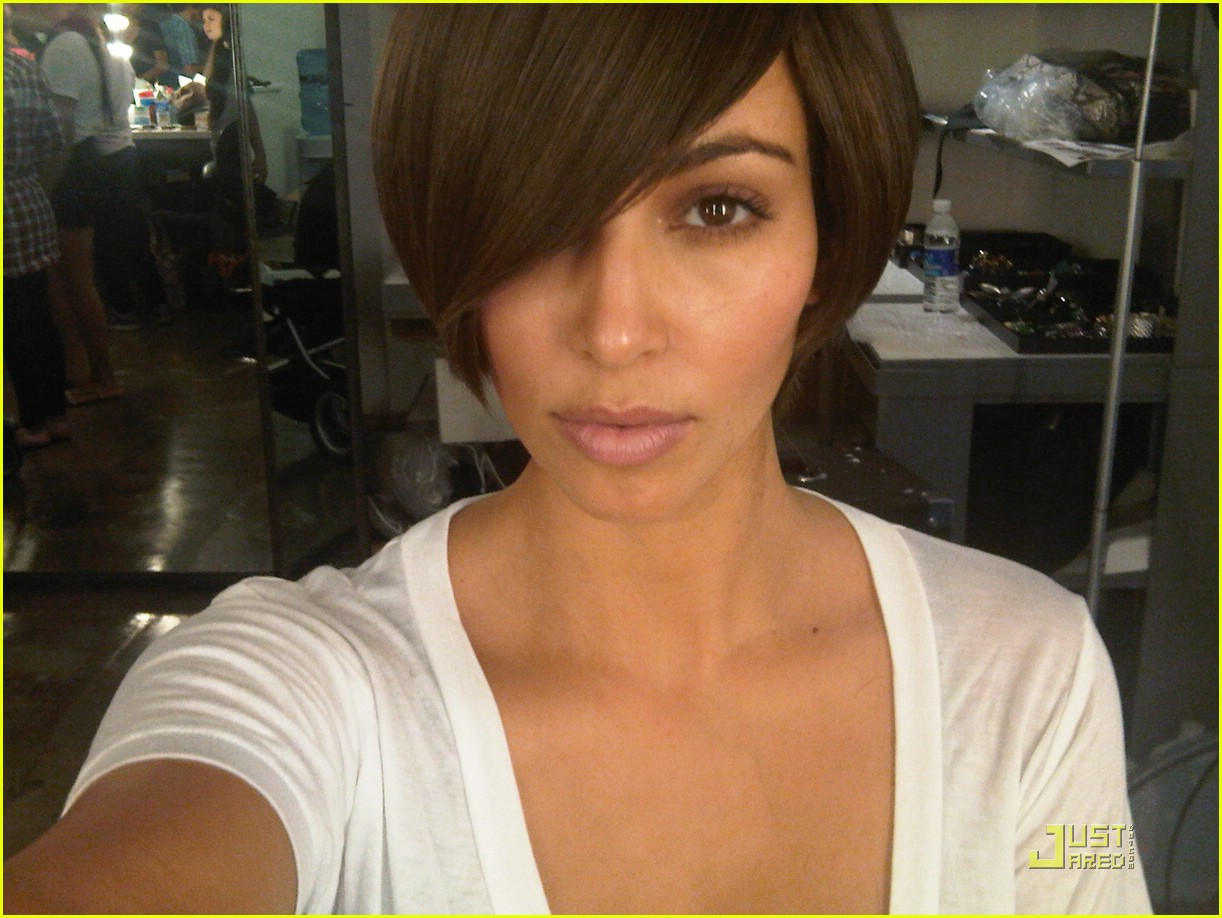 kim kardashian short hair 01