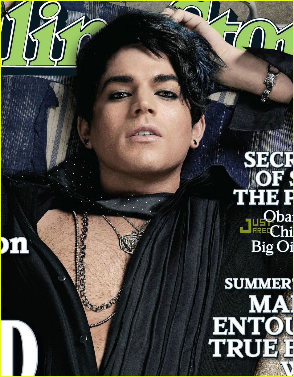 Posted in Adam Lambert: I'm Gay (Rolling Stone Cover)
