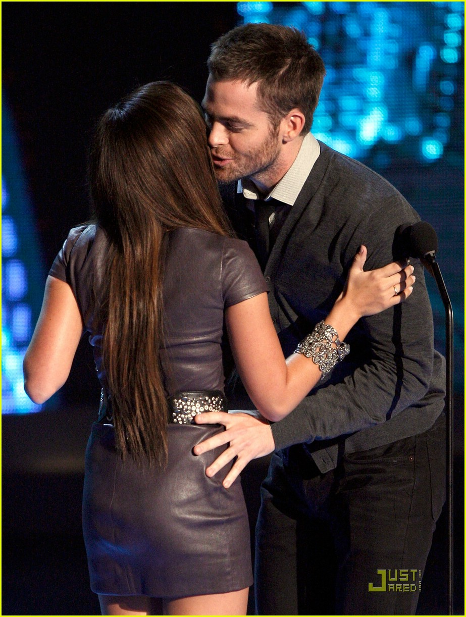 chris pine mtv movie awards 2009 02