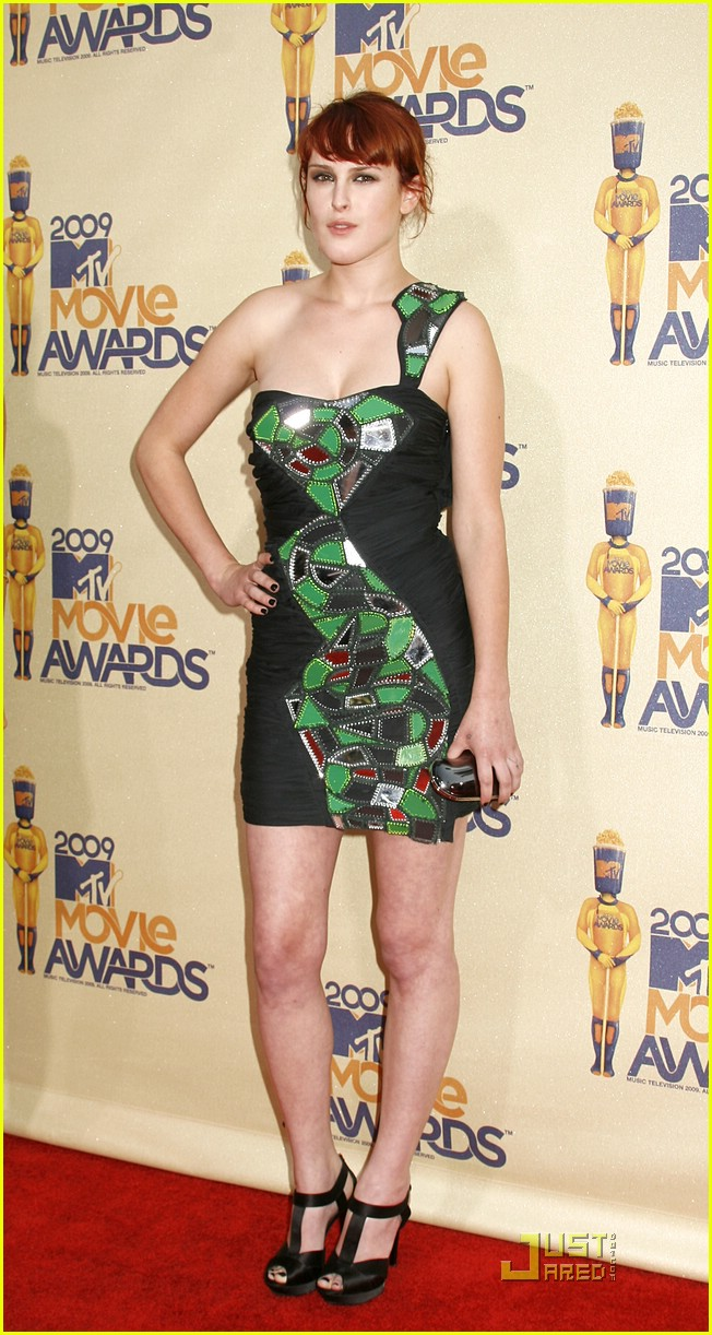 rumer willis mtv movie awards 2009 10