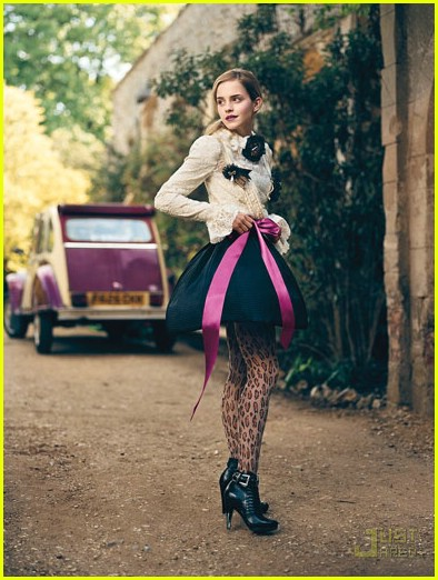 Emma Watson in Teen Vogue