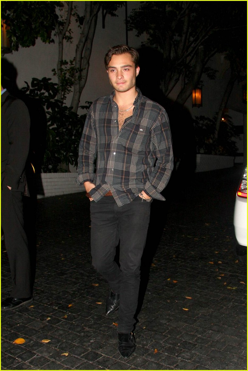ed westwick chest hair hottie 031986131