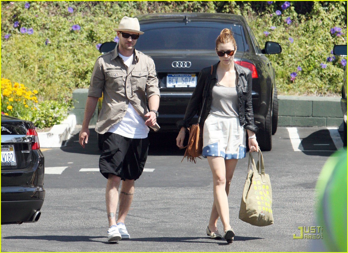 justin timberlake jessica biel fourth of july 09