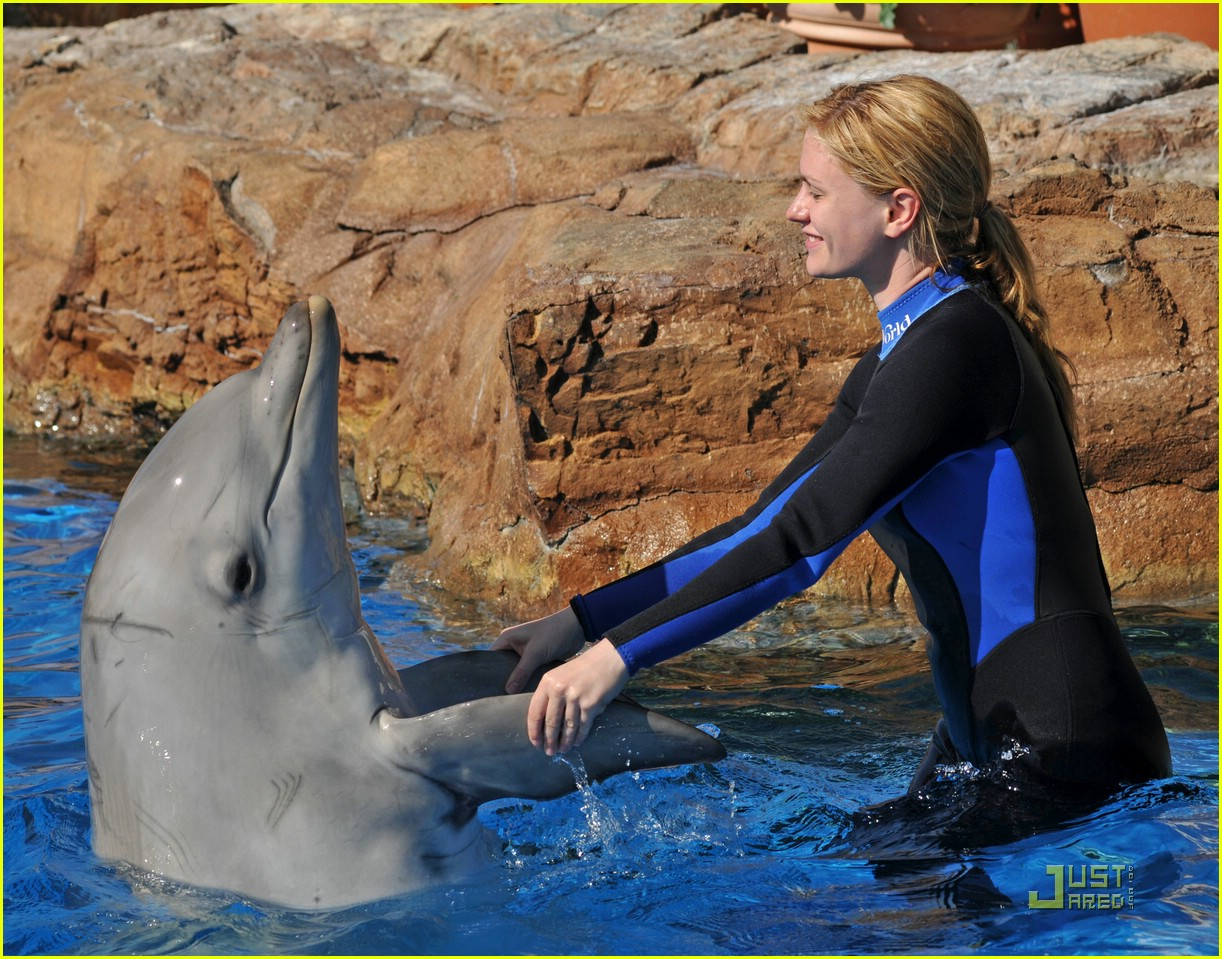 anna paquin stephen moyer seaworld 162081452