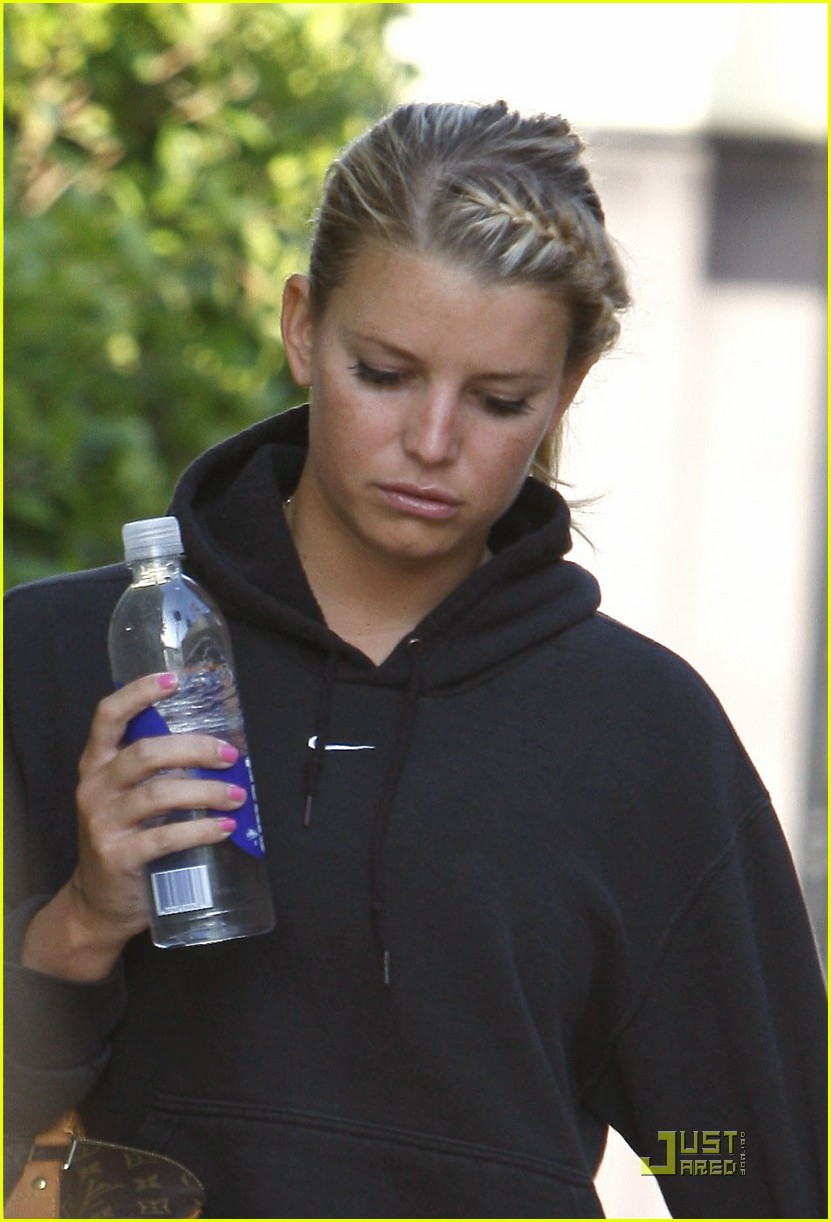 jessica simpson work out 06