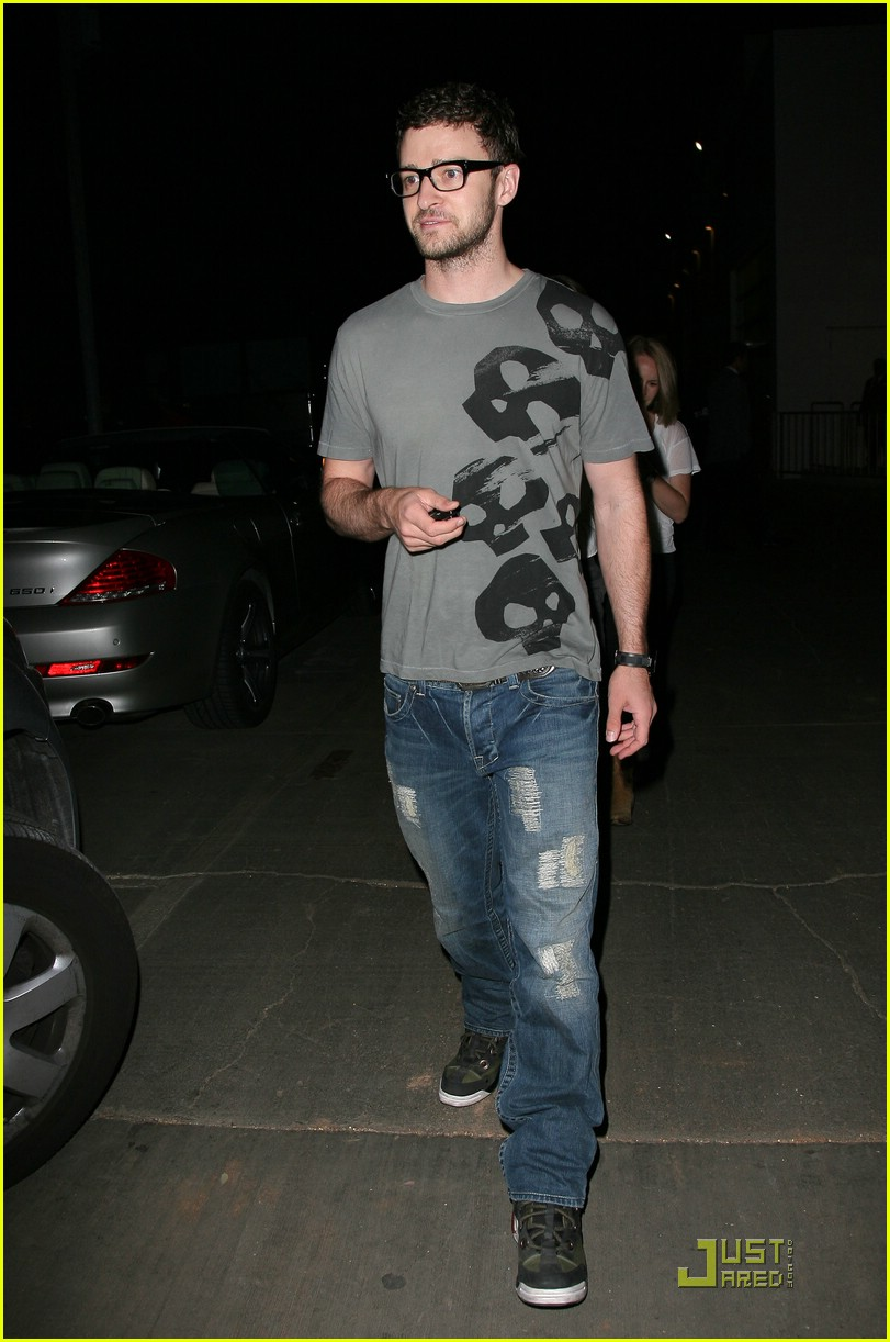 justin timberlake jessica biel hollywood bowl 04