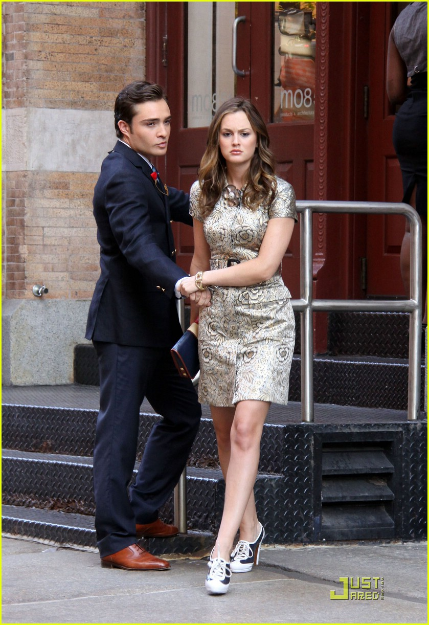 ed westwick and leighton meester dating 2012