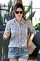 rachel bilson studded denim shorts 04