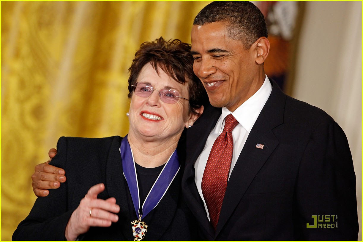 President Obama Honors Billie Jean King