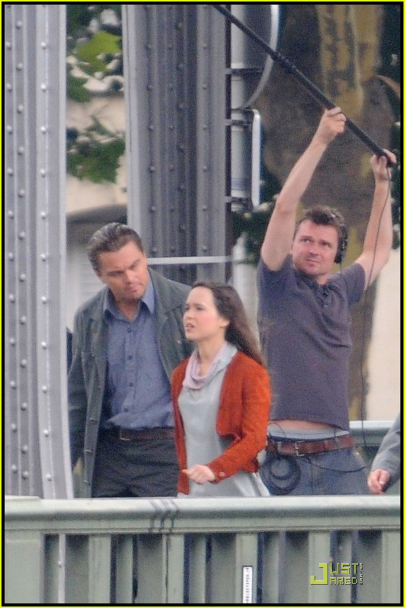 leonardo dicaprio ellen page inception 03