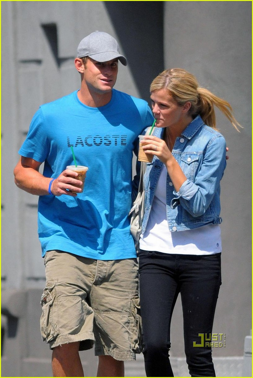 andy roddick brooklyn decker coffee 03