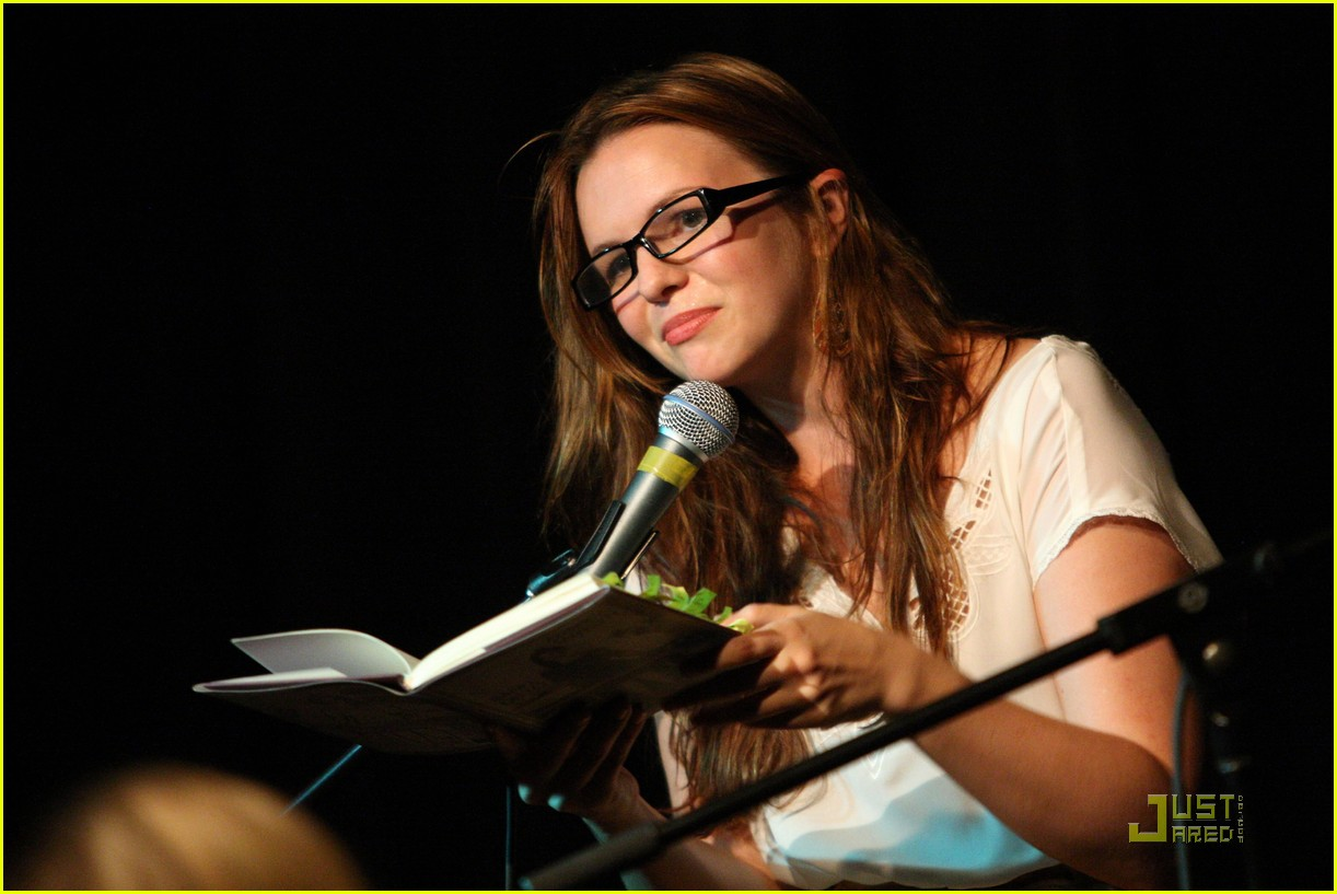 amber tamblyn bang ditto book party 07