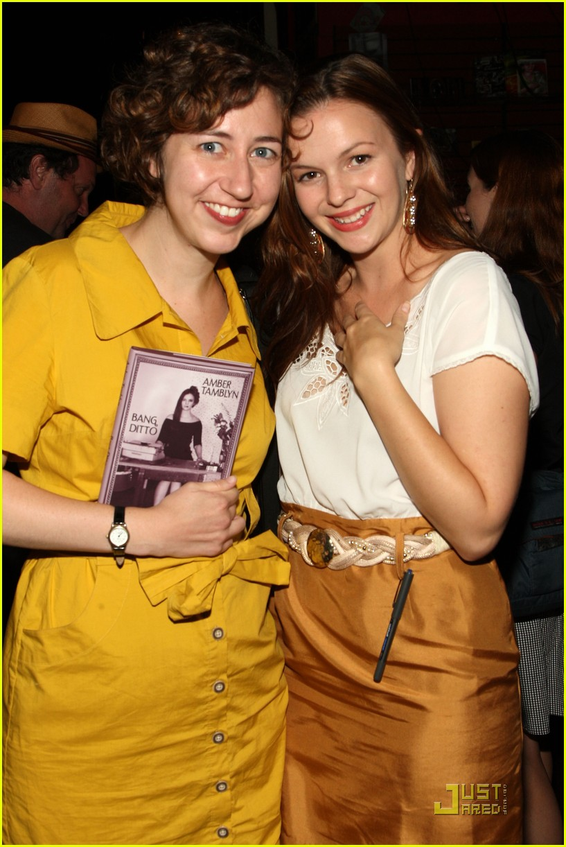 amber tamblyn bang ditto book party 09