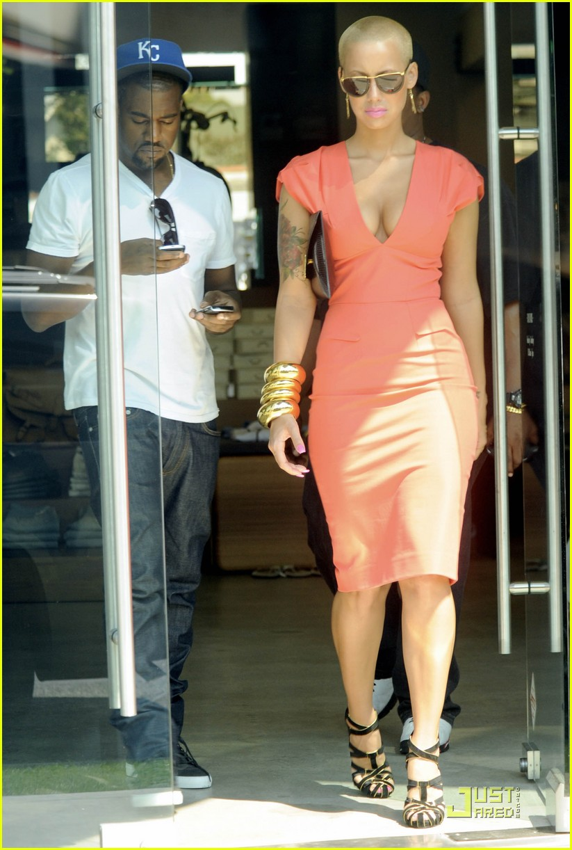 kanye west amber rose intermix 02