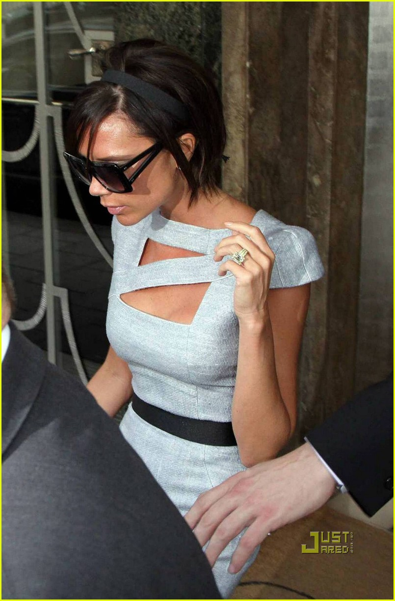 victoria beckham claridges 07