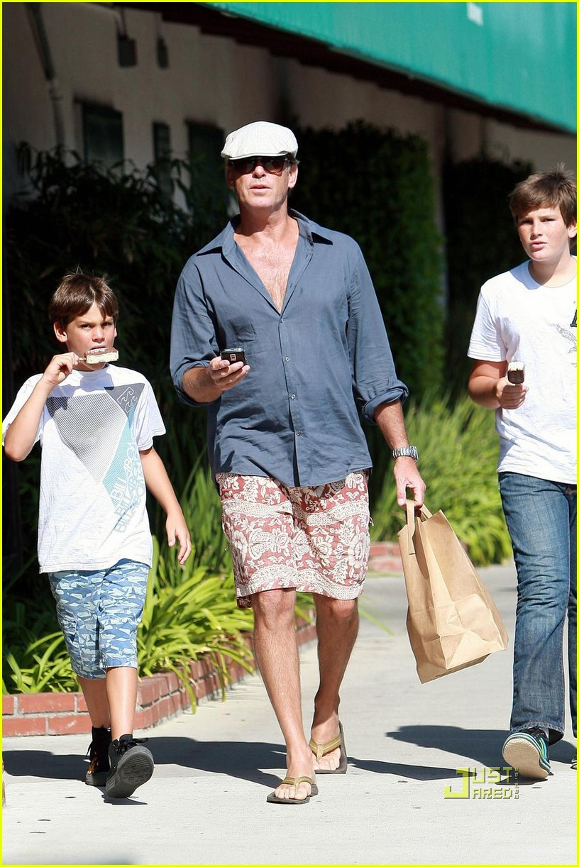 pierce brosnan malibu country mart 062195082