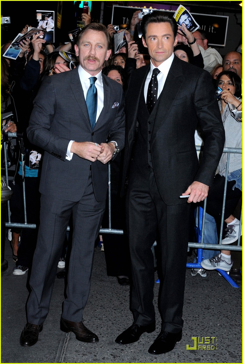 daniel craig hugh jackman steady rain premiere 09