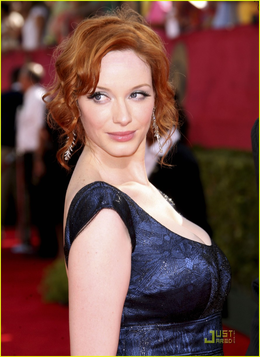 christina hendricks emmy awards 2009 01